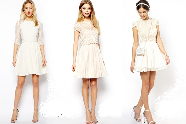 545a26d153ad Robe blanche habillée - Mode   Lifestyle
